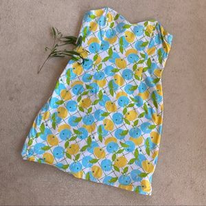 Lilly Pullitzer Lemons & Blueberries Dress